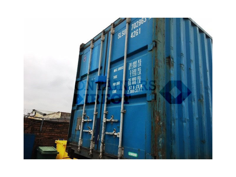 SHIPPING CONTAINERS 40ft ISO 54287 click to zoom image