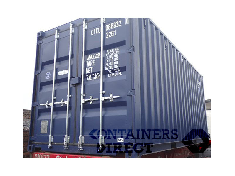 SHIPPING CONTAINERS 18ft S2 doors 38046 click to zoom image