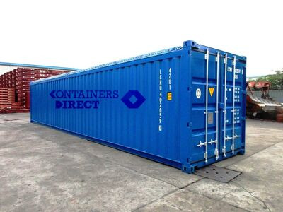 SHIPPING CONTAINERS 40ft Open top container SCOT01