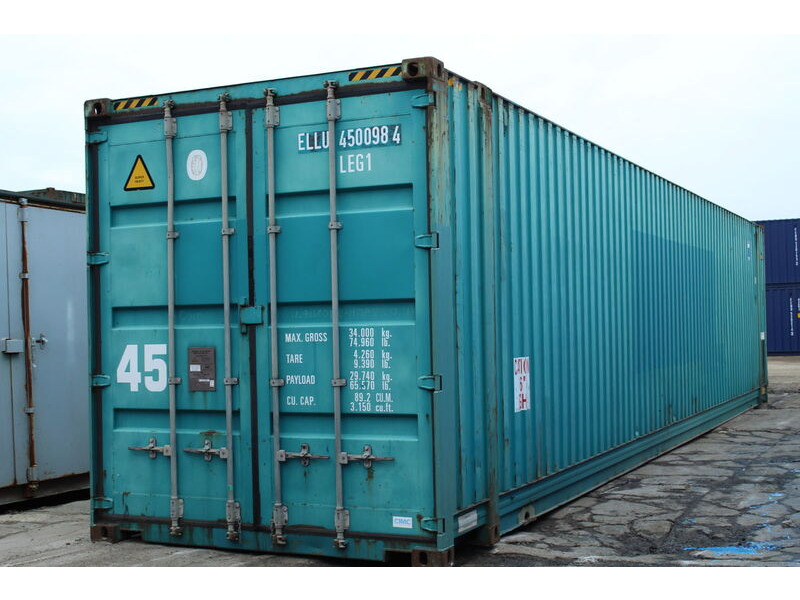 SHIPPING CONTAINERS 45ft high cube 41990 click to zoom image