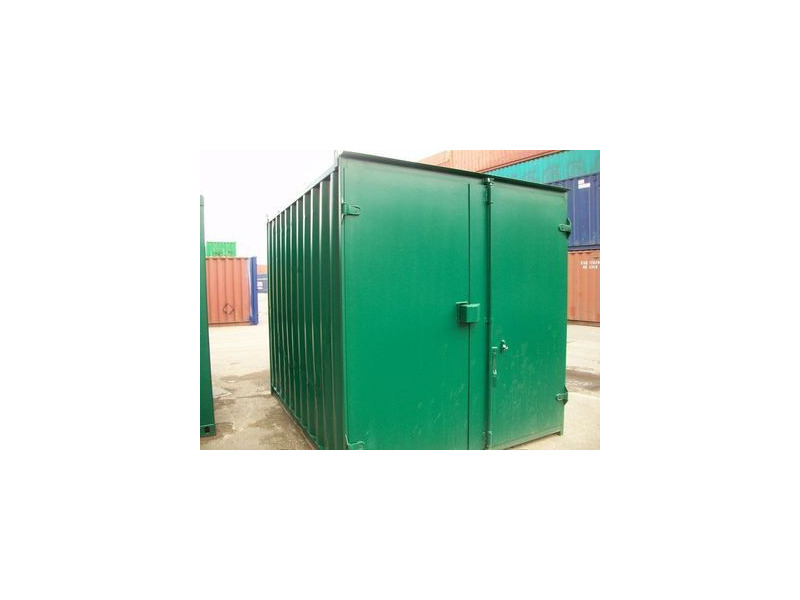 SHIPPING CONTAINERS 8ft S1 doors 45667 click to zoom image