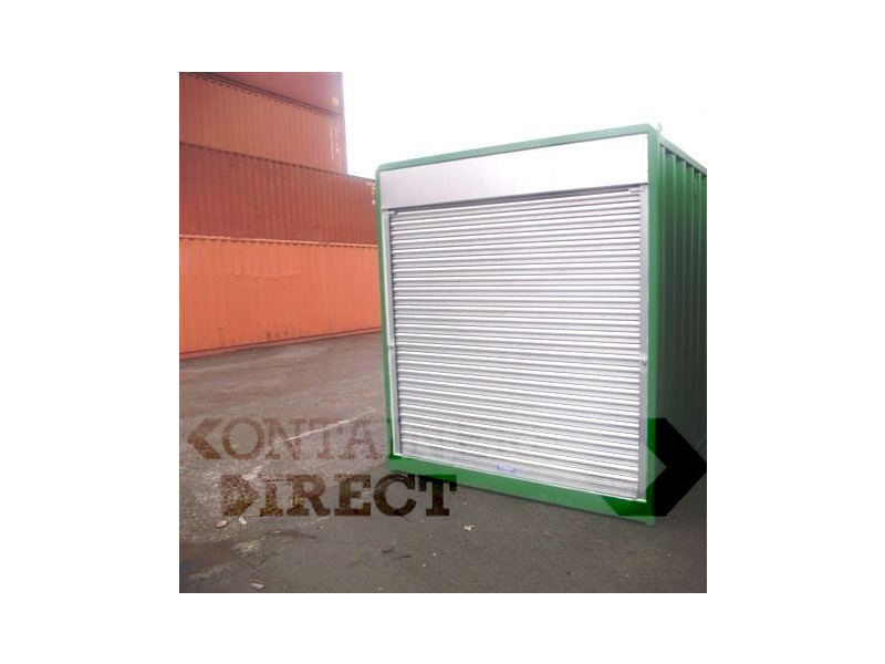 SHIPPING CONTAINERS 40ft with roller shutter door 39677 click to zoom image