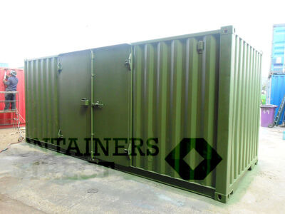 SHIPPING CONTAINERS 20ft S1 side doors 40067