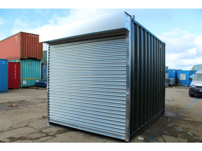 SHIPPING CONTAINERS 8ft S4 Doors click to zoom image