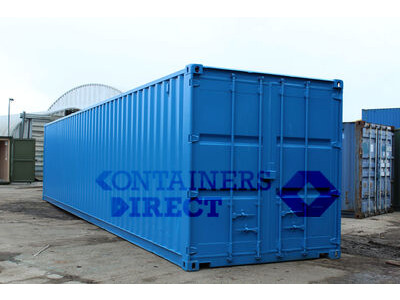 SHIPPING CONTAINERS 40ft ply lined, electrics, repainted