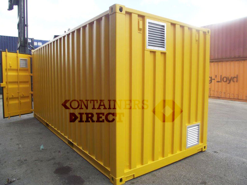 SHIPPING CONTAINERS 15ft once used Falcon chemical store F15 click to zoom image