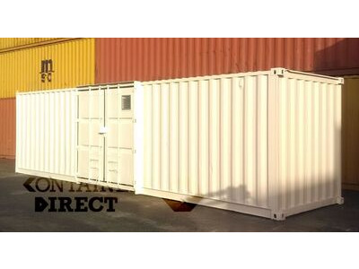 SHIPPING CONTAINERS 30ft once used Falcon chemical store F30