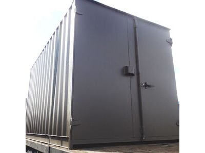 SHIPPING CONTAINERS 14ft S1 doors high cube HL10