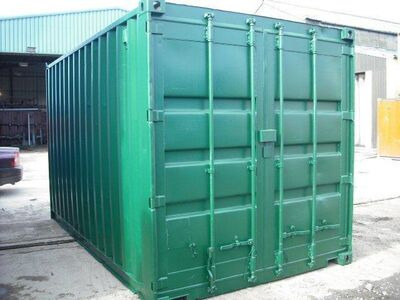 SHIPPING CONTAINERS 15ft S2 doors 60384