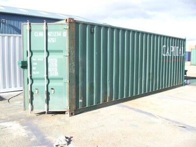 SHIPPING CONTAINERS 25ft Shipping Container ISO Doors