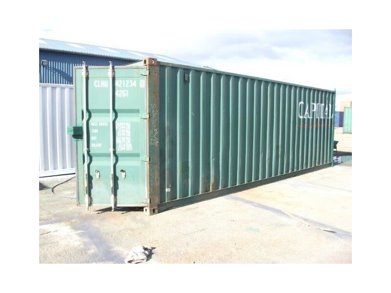 SHIPPING CONTAINERS 25ft Shipping Container ISO Doors click to zoom image