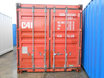 SHIPPING CONTAINERS 10ft container with tyre racking click to zoom image