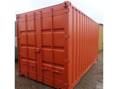 SHIPPING CONTAINERS 15ft container with tyre racking click to zoom image
