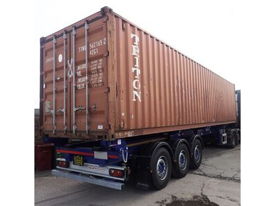 SHIPPING CONTAINERS 40ft container with tyre racking click to zoom image