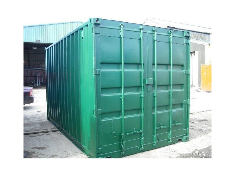 SHIPPING CONTAINERS 15ft S2, ply lined HL1 click to zoom image