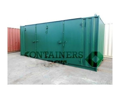 SHIPPING CONTAINERS 20ft with extra wide doors in the side HL5