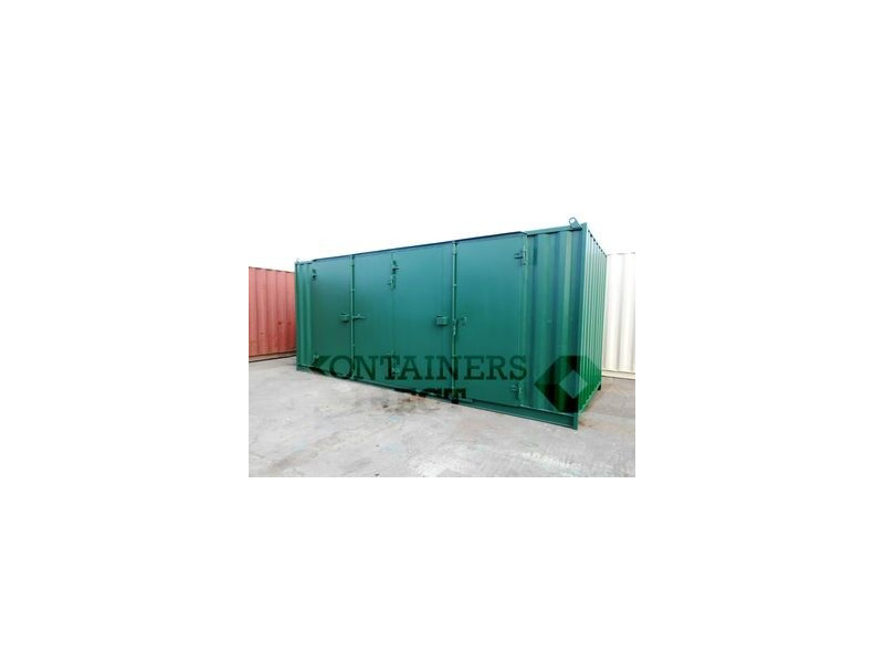 SHIPPING CONTAINERS 20ft with extra wide doors in the side HL5 click to zoom image