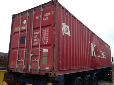 SHIPPING CONTAINERS 20ft S2 doors with Grafotherm HL12