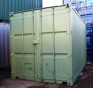 SHIPPING CONTAINERS 10ft S2 doors Liverpool