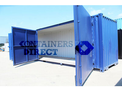 SHIPPING CONTAINERS 40ft extra wide doors