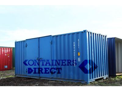 SHIPPING CONTAINERS 20ft side door SD20