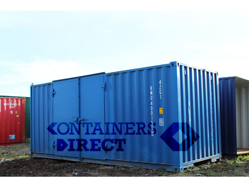 SHIPPING CONTAINERS 20ft side door SD20 click to zoom image
