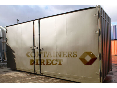SHIPPING CONTAINERS 20ft with 20ft wide side door SD2020