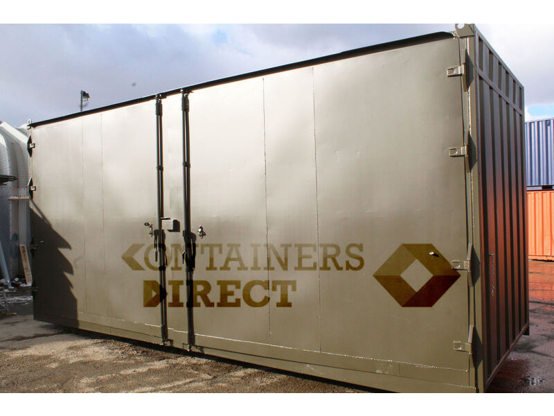 SHIPPING CONTAINERS 20ft with 20ft wide side door SD2020 click to zoom image