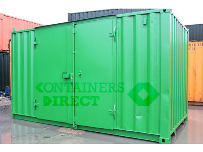 SHIPPING CONTAINERS 15ft side doors SD15