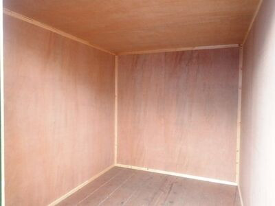 SHIPPING CONTAINERS 10ft once used ply lined container PO1210