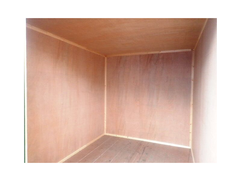 SHIPPING CONTAINERS 15ft once used ply lined container PO915 click to zoom image