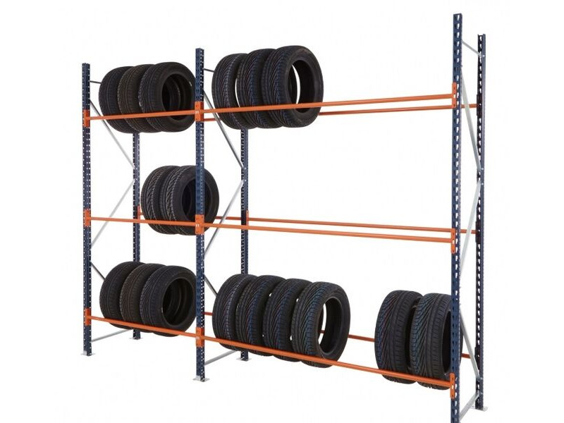 SHIPPING CONTAINERS Tyre racking for 10ft container click to zoom image
