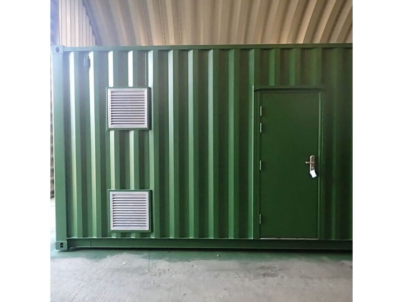 SHIPPING CONTAINERS 450mm x 450mm louvre vent click to zoom image