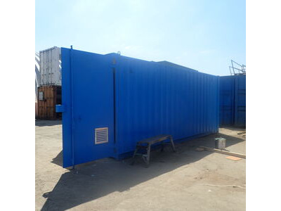 SHIPPING CONTAINERS 700mm Louvre vent