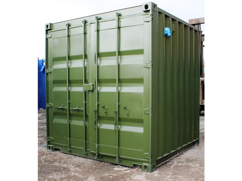 SHIPPING CONTAINERS 8ft S2 doors click to zoom image