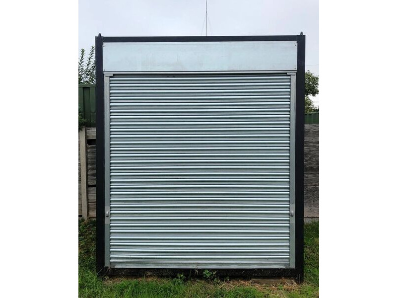 SHIPPING CONTAINERS 8ft with roller shutter 39440 click to zoom image