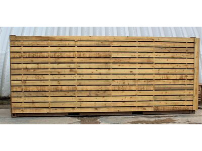 SHIPPING CONTAINERS 15ft once used cladded container - Classic Rustic CLO15