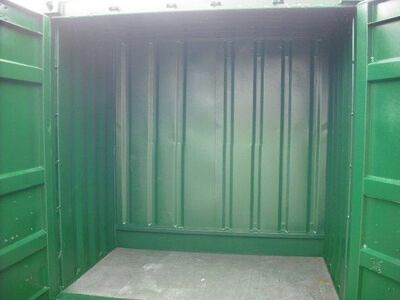 SHIPPING CONTAINERS 5ft x 8ft S1 Doors