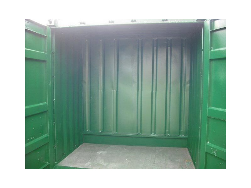 SHIPPING CONTAINERS 5ft x 8ft S1 Doors click to zoom image