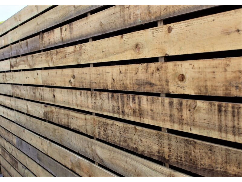 SHIPPING CONTAINERS 30ft used cladded container - Classic Rustic CLU30 click to zoom image