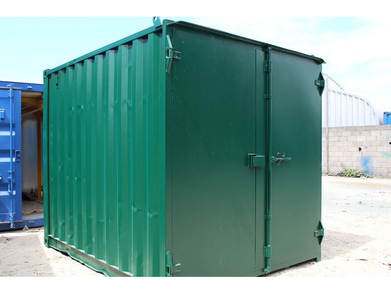 SHIPPING CONTAINERS 9ft S1 doors click to zoom image
