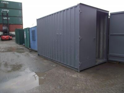 SHIPPING CONTAINERS 16ft high cube S1 doors