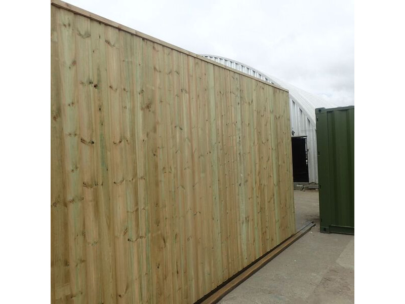 SHIPPING CONTAINERS 40ft once used cladded container - Seamless Shiplap CLO40 click to zoom image