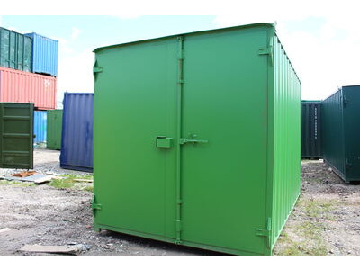 SHIPPING CONTAINERS 16ft new container - S1 doors click to zoom image
