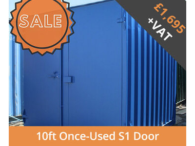 SHIPPING CONTAINERS 10ft S1 doors HL10S104