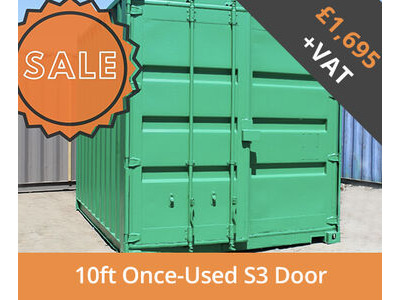 SHIPPING CONTAINERS 10ft S3 doors HL10S302