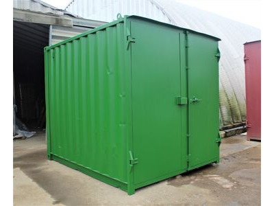 SHIPPING CONTAINERS 10ft S1 doors HL10S105 click to zoom image