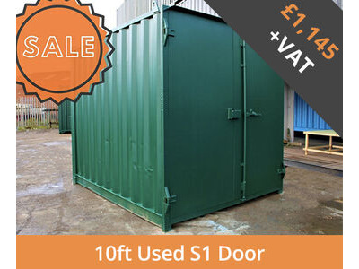 SHIPPING CONTAINERS 10ft S1 doors HL10S105