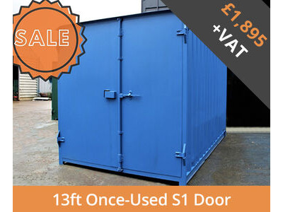 SHIPPING CONTAINERS 13ft S1 doors HL13S101