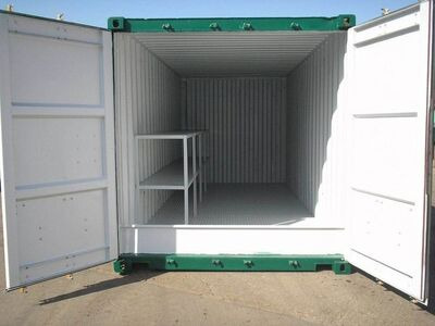 SHIPPING CONTAINERS 20ft once used Kite K20